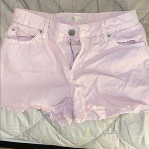 Maje Jean shorts